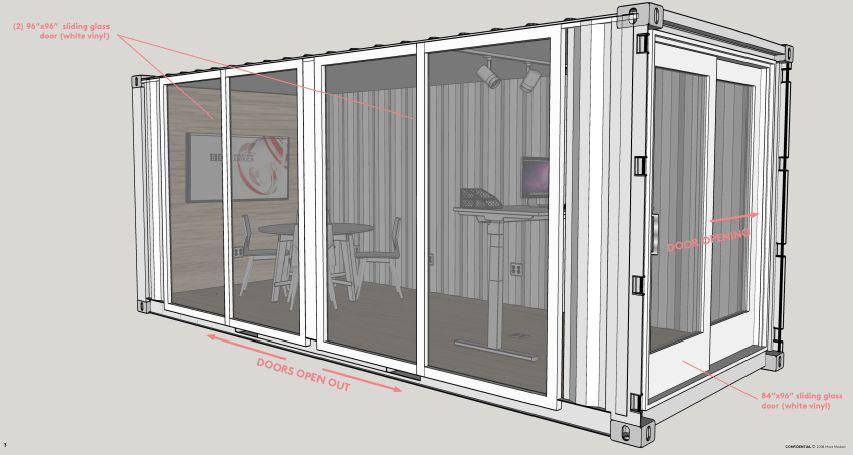 钢铁集装箱办公室?建立你梦想的工作空间。