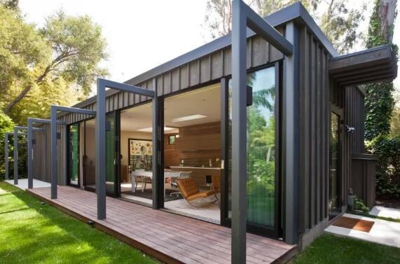 集装箱定制,保持风格的替代廉价房屋